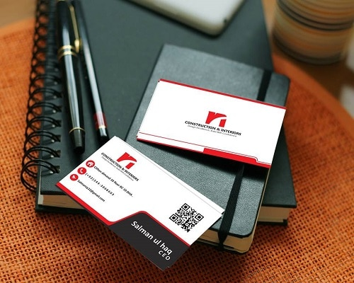 business card design - siwtech solutions